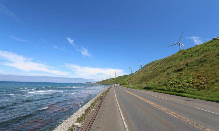 (日本一周中)北海道オロロンラインにて