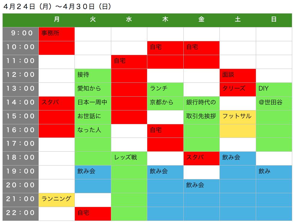kaji_スケジュール